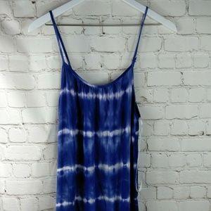 Merona  Blue and white Small Dress